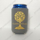 custom rubber koozie wedding ko